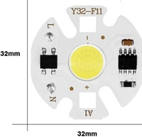 COB LED 220V 3W cold white